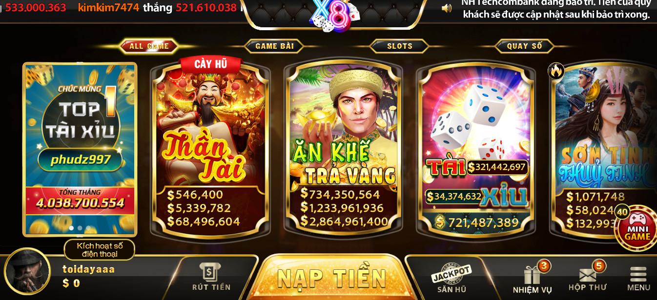 Hình ảnh x8 club ios in Tải x8vn.com apk / ios / pc - Đánh bài nổ hũ x8club bản mới